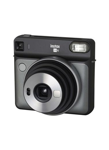 Fujifilm instax SQ 6 Gri-Siyah Fotograf Makinesi ve 10'lu Kare Film Renkli